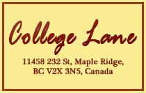 College Lane 11458 232ND V2X 3N5