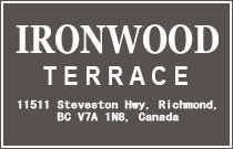 Ironwood Terrace 11511 STEVESTON V7A 1N8
