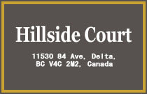Hillside Court 11530 84TH V4C 2M1