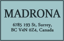 Madrona 6785 193RD V4N 0Z4