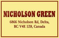 Nicholson Green 6866 NICHOLSON V4E 3G5
