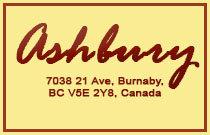 Ashbury 7038 21ST V5E 2Y9