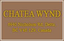 Chateau Wynd 6940 NICHOLSON V4E 3G5