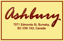 Ashbury 7071 EDMONDS V3N 1A3