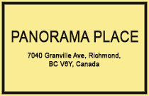 Panorama Place 7040 GRANVILLE V6Y 3W5