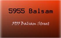 5955 Balsam 5955 BALSAM V6M 0A1