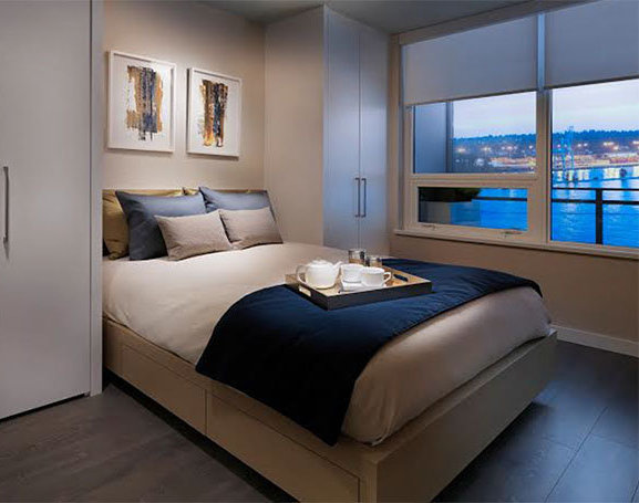 988 Quayside Drive, New Westminster, BC V3M 6G1, Canada Bedroom!
