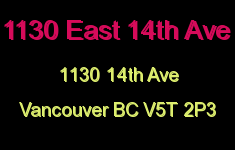 1130 East 14th Ave 1130 14TH V5T 2P3