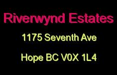Riverwynd Estates 1175 7th V0X 1L4