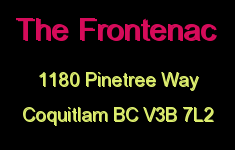 The Frontenac 1180 PINETREE V3B 7L2