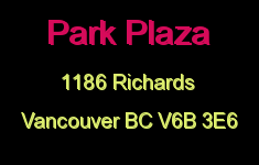 Park Plaza 1186 RICHARDS V6B 5B6