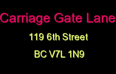 Carriage Gate Lane 119 6TH V7L 1N9