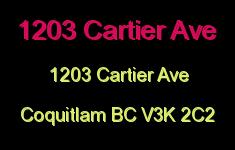 1203 Cartier Ave 1203 CARTIER V3K 2C2