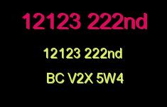 12123 222nd 12123 222ND V2X 5W4