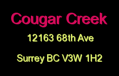 Cougar Creek 12163 68TH V3W 1H2
