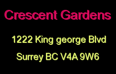 Crescent Gardens 1222 KING GEORGE V4A 9W6