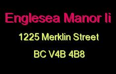 Englesea Manor Ii 1225 MERKLIN V4B 4B8