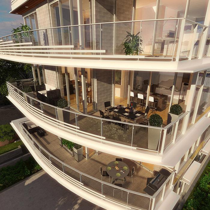 2934  Birch Street, Vancouver, BC V6H 1R2, Canada Balcony Rendering!