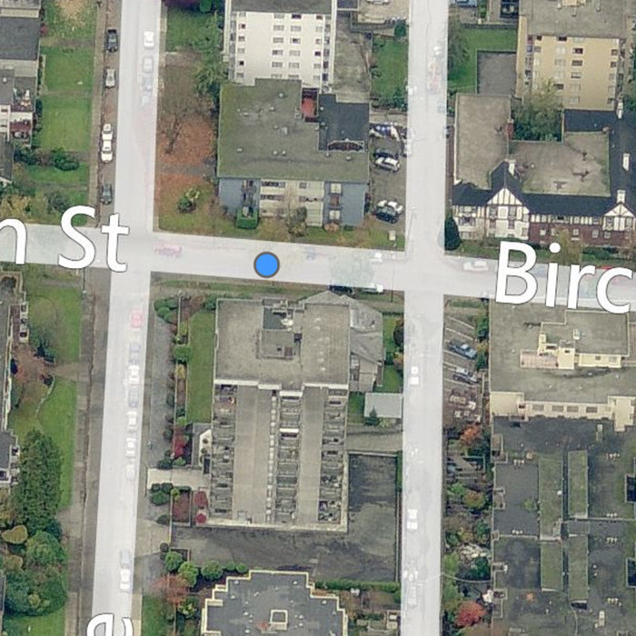 2968  Birch Street, Vancouver, BC V6H 1R2, Canada Birds Eye Right Side View!