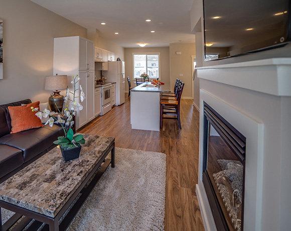 11703 102nd Street, Fort St. John, BC V1J 0E9, Canada Living Room/Dining Area/Kitchen!