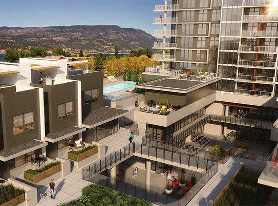 3030 Pandosy Street, Kelowna, BC V1Y 1W2, Canada Rooftop Ameneties!