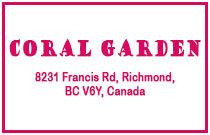 Coral Garden 8231 FRANCIS V6Y 1A5