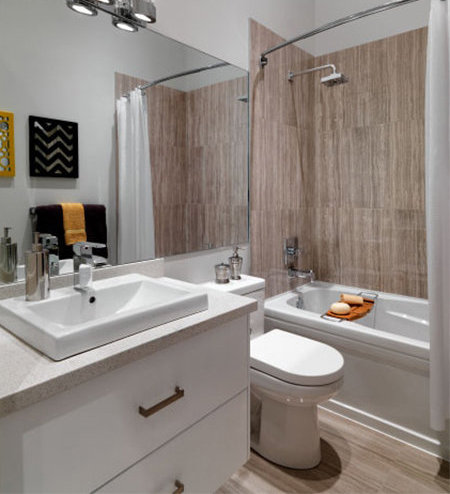 Delta Rise Display Home Bathroom!