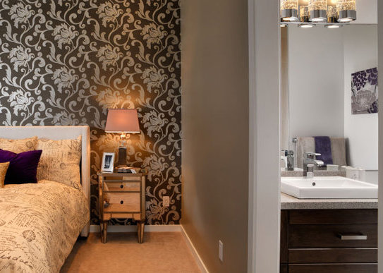 Delta Rise Display Home Bedroom and Ensuite!