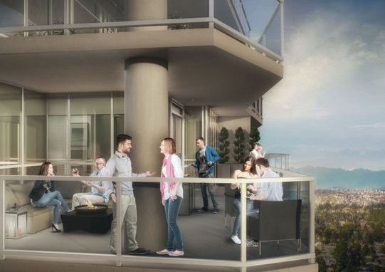 Delta Rise Balcony Rendering!