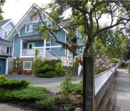 255 Vancouver Victoria BC Building Exterior!