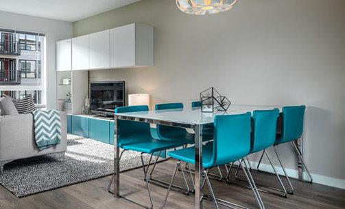 528 Pandora Avenue, Victoria, BC V8W 3G9, Canada Dining Area and Living Room!