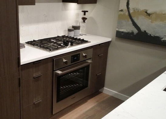The Spot Display Suite Dark Gas Range!