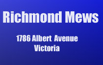Richmond Mews 1786 Albert V8R 1Z1