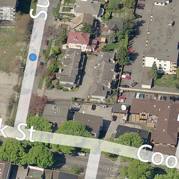 1060 Sutlej St, Victoria, BC V8V 2V8, Canada Left Side Aerial View!