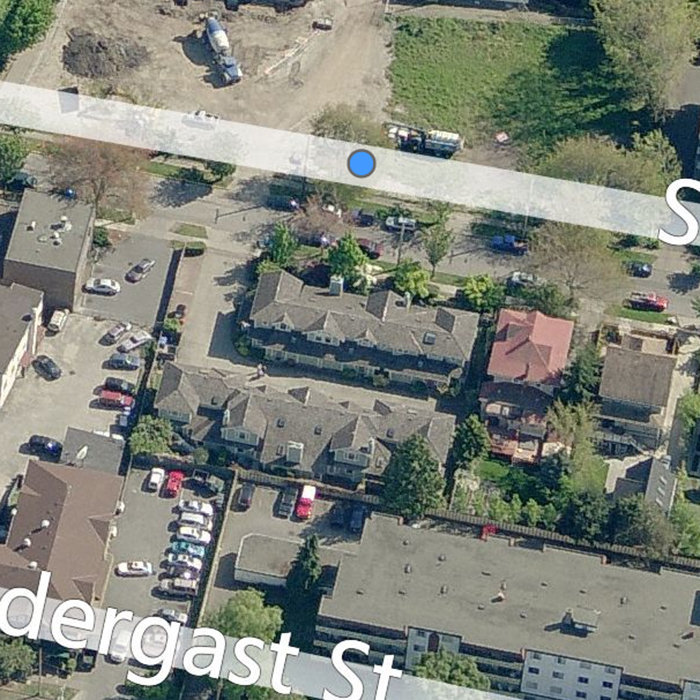 1060 Sutlej St, Victoria, BC V8V 2V8, Canada Back Aerial View!