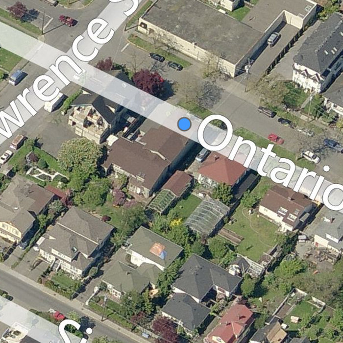 109 Ontario St, Victoria, BC V8V 1M8, Canada Back Birds Eye View!