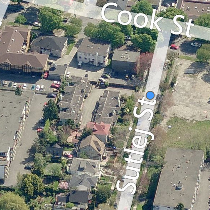 1060 Sutlej St, Victoria, BC V8V 2V8, Canada Right side Aerial View!
