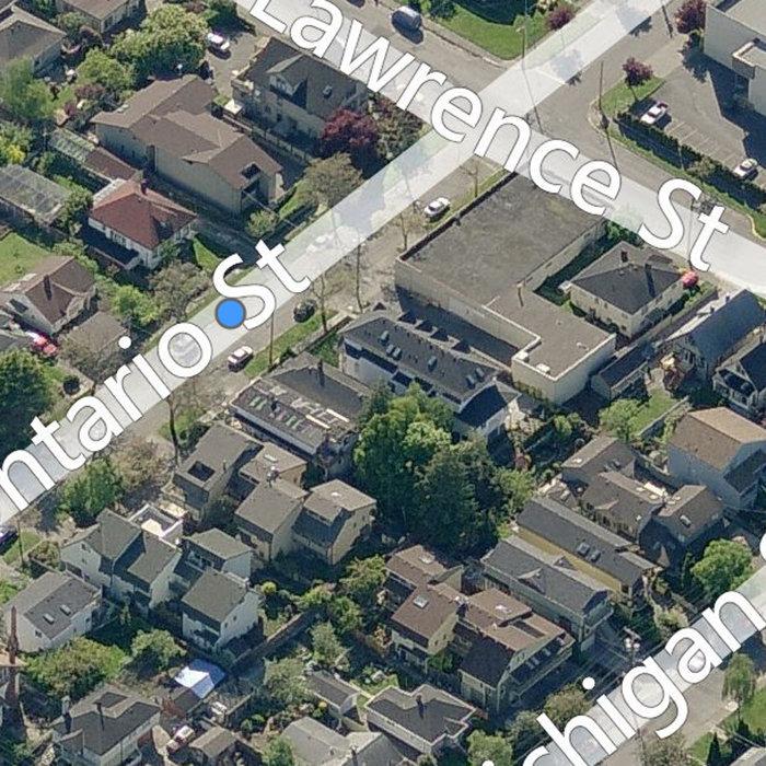 114 Ontario St, Victoria, BC V8V 1M9, Canada Birds Eye View!