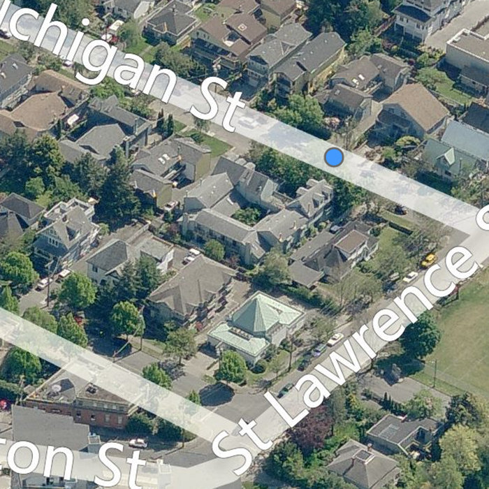 118 Michigan St, Victoria, BC V8V 1R1, Canada Birds Eye View!