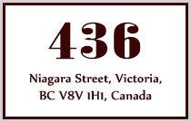 436 Niagara 436 Niagara V8V 1H1