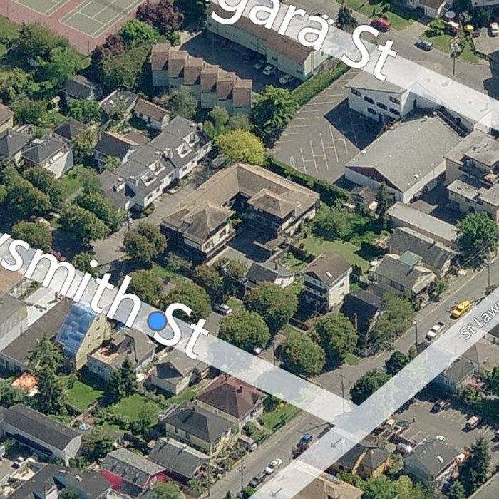 119 Ladysmith St, Victoria, BC V8V 1J3, Canada Birds Eye View!