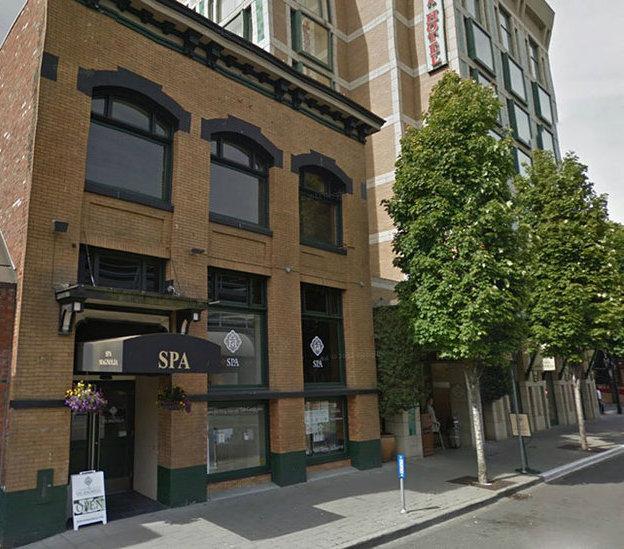 Magnolia Hotel Victoria BC, Building Exterior!