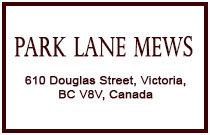Park Lane Mews 610 Douglas V8V 2P8