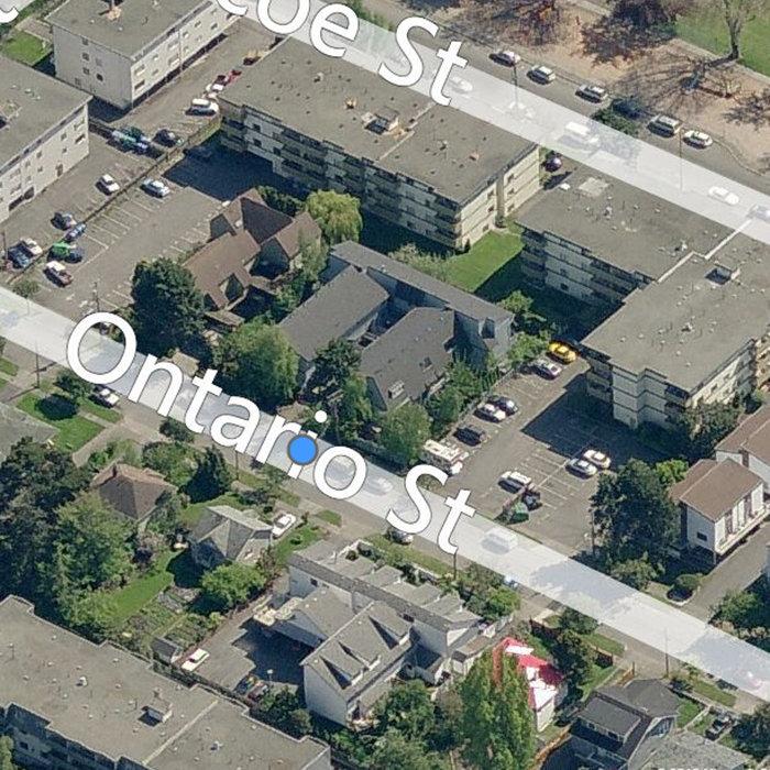 245 Ontario St, Victoria, BC V8V 1N1, Canada Birds Eye!