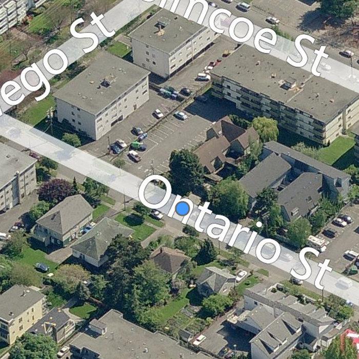251 Ontario Street, Victoria, BC V8V 1N1, Canada Birds Eye!