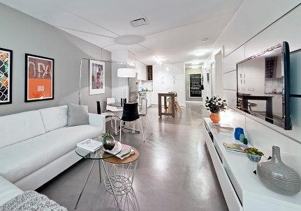 Open Concept Living Area!
