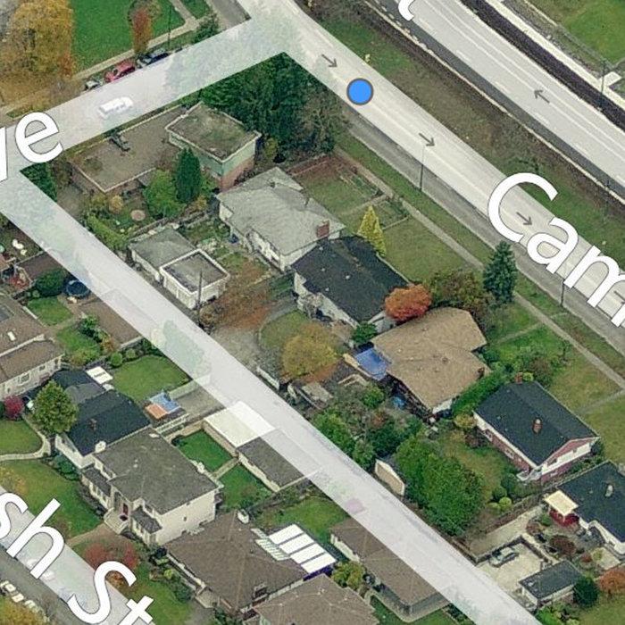 4977 Cambie Street, Vancouver, BC V5Z 2Z6, Canada Brids Eye!