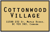 Cottonwood Village 11588 232ND V2X 0J6