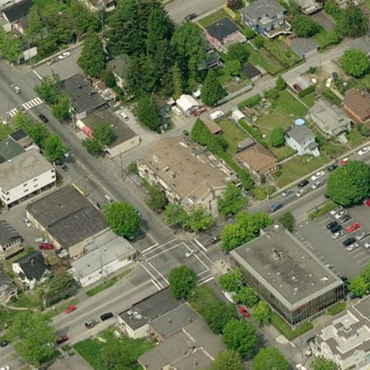 1169 8th New Westminster BC Birds Eye View!