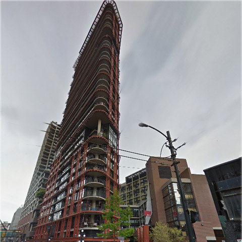 Woodwards W-43, Vancouver BC, Exterior!